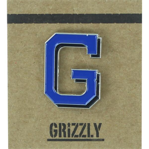 Grizzly Grip Tape Coliseum Lapel Pin