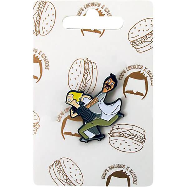 Habitat Skateboards Bob's Burgers Marius Lapel Pin