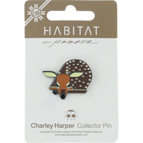 Habitat Skateboards Charley Harper Fawn Lapel Pin