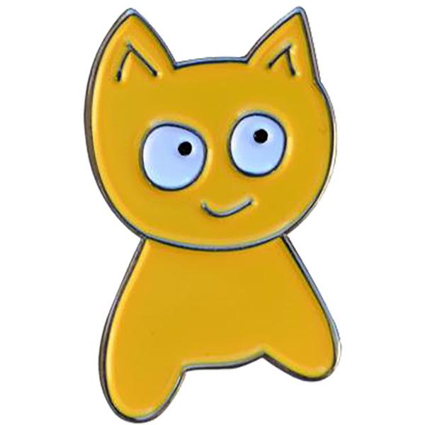 Meow Skateboards Cat Lapel Pin