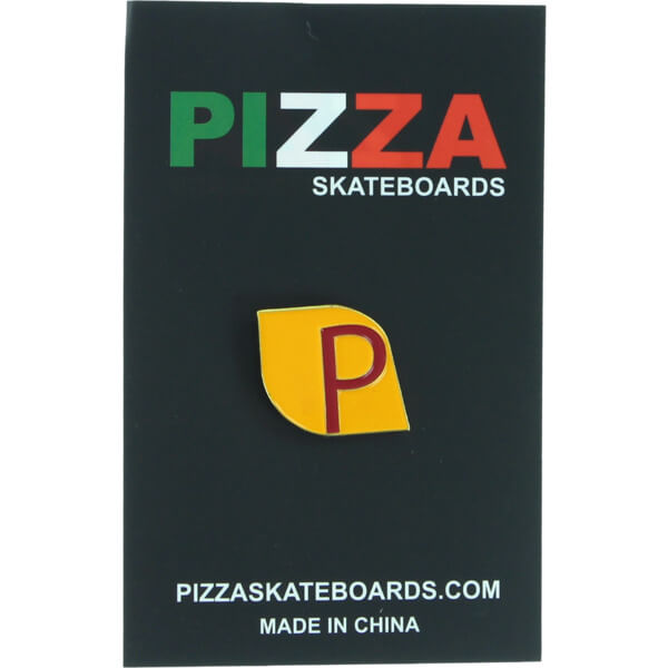 Pizza Skateboards Fumar Lapel Pin