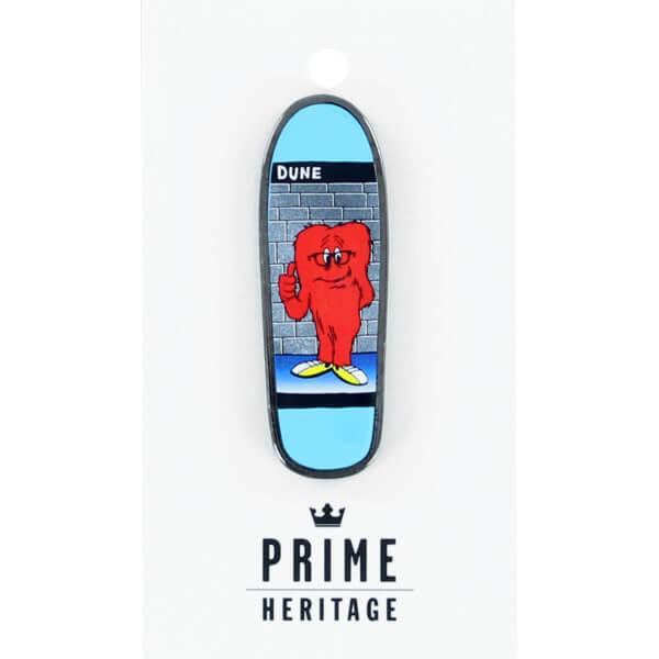 "Prime Heritage Dune Gossamer Blue 2"" Board Lapel Pin"
