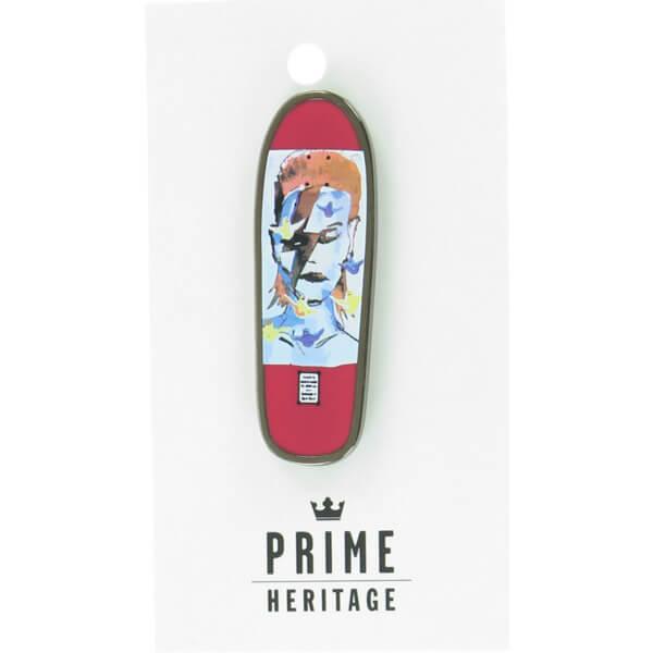 "Prime Heritage Gonz Jason Lee Bowie Board Pink 2"" Enamel Collectible Lapel Pin"