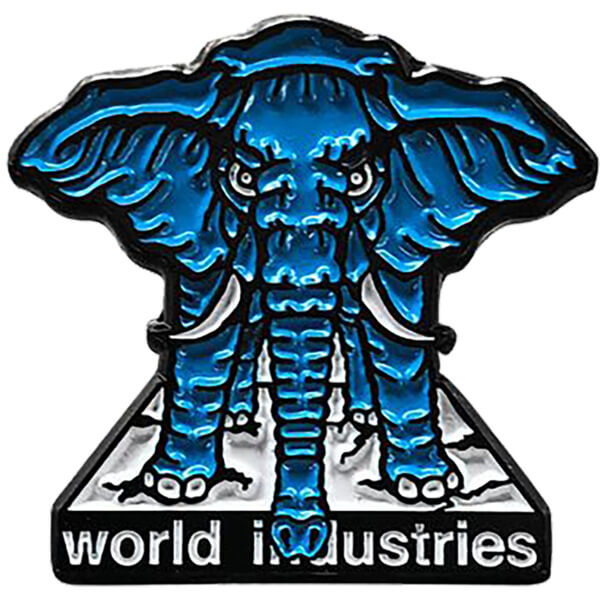 Prime Heritage Mike Vallely Elephant On Egde Lapel Pin