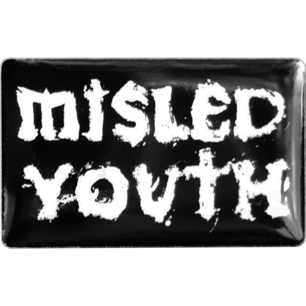 Zero Skateboards Misled Youth Black / White Lapel Pin