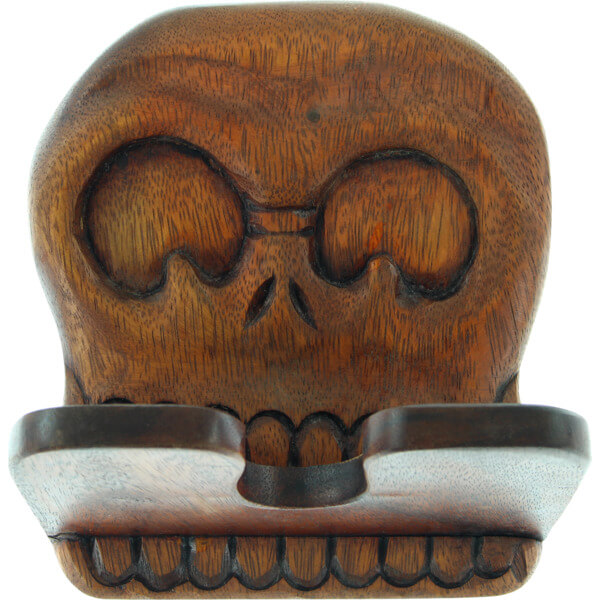 Beatnik Trading Skull Skateboard Wall Rack Display