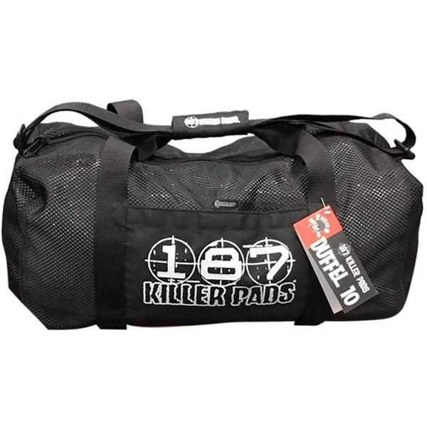 187 Killer Pads Mesh Black Duffel Bag - One Size Fits All