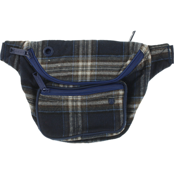 Bumbag Deluxe Flanders Blue Plaid Fanny Pack - One Size Fits All