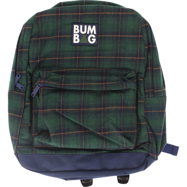 Bumbag Scout Flanders Green Plaid Backpack - One Size Fits All