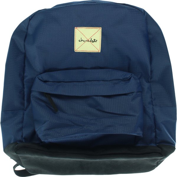 Chocolate Skateboards Mission Navy / Black Backpack - One Size Fits All