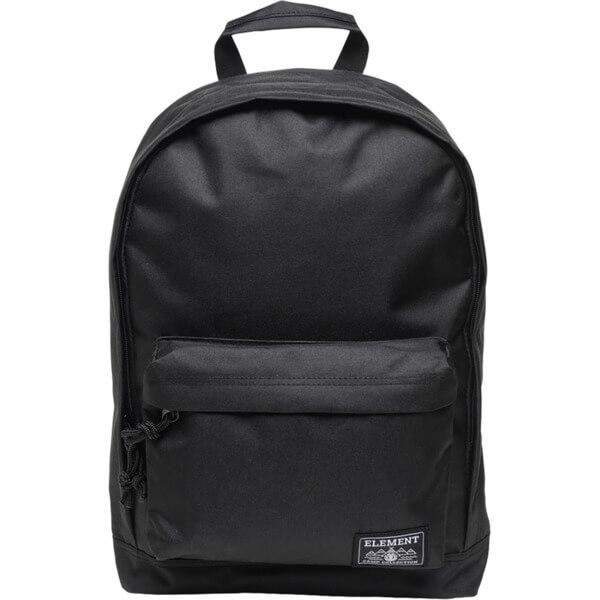 Element Skateboards Beyond Flint Black Backpack - One Size Fits All