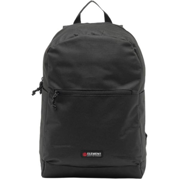 Element Skateboards Vast All Black Backpack - One Size Fits All
