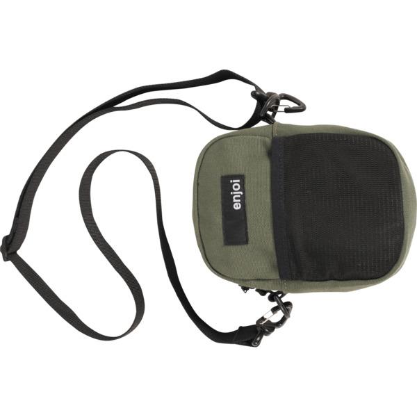 Enjoi Skateboards Ratpack Army Green Shoulder Bag