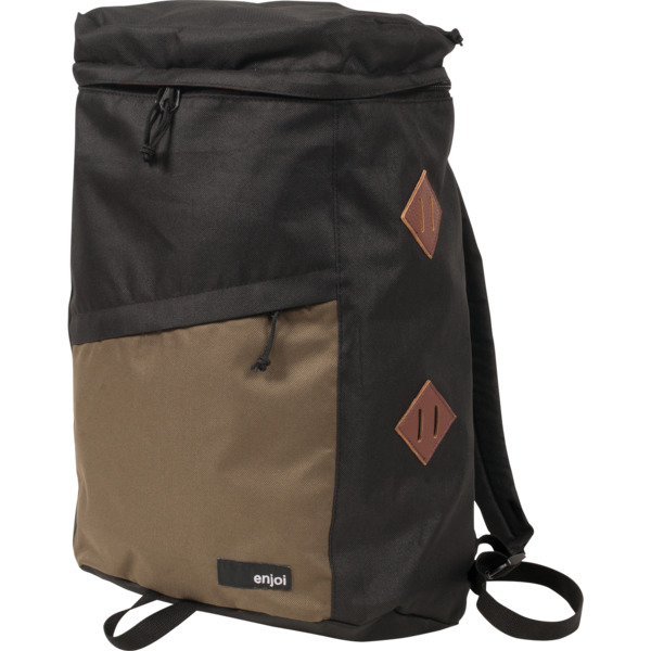 Enjoi Skateboards Wolfpack Black / Brown Backpack