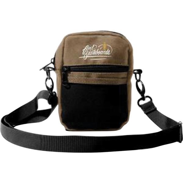 Girl Skateboards Traveler Brown / Black Shoulder Bag - One Size Fits All