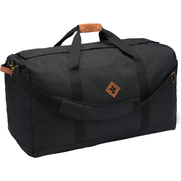 be621d47e Revelry Supply The Continental 134L Black Duffle Bag - Warehouse Skateboards
