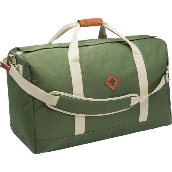 29321a760 Revelry Supply The Continental 134L Green Duffle Bag - Warehouse Skateboards