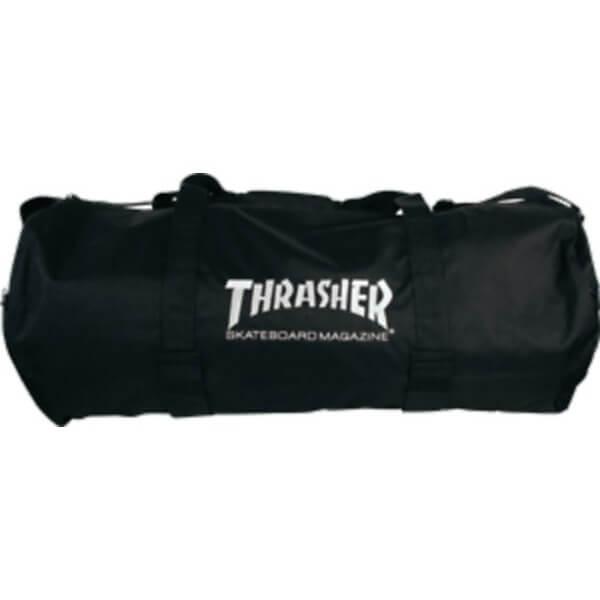 Thrasher Magazine Logo Duffel Bag with Velco Board Straps