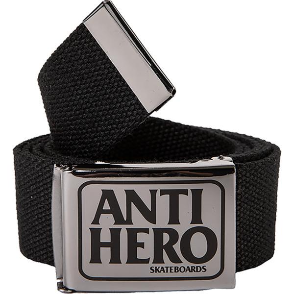 Anti Hero Skateboards Reserve Gun / Black Web Belt - Adjustable