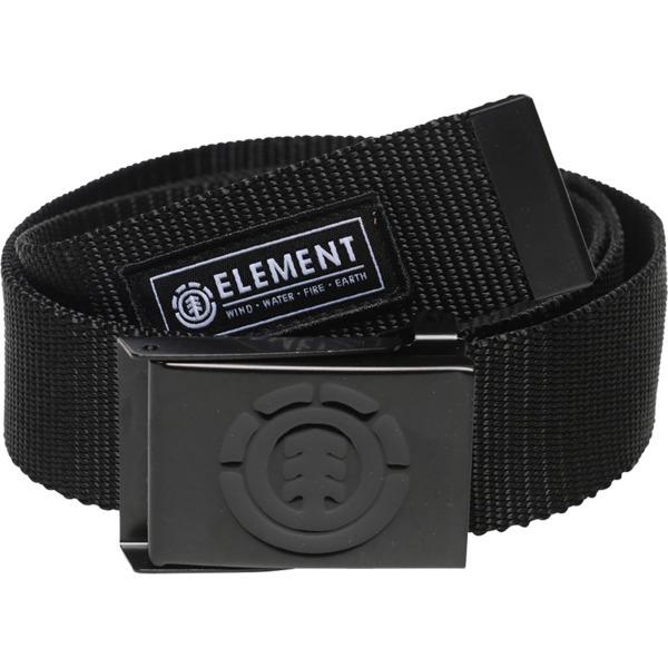 Element Skateboards Beyond All Black Web Belt - Adjustable