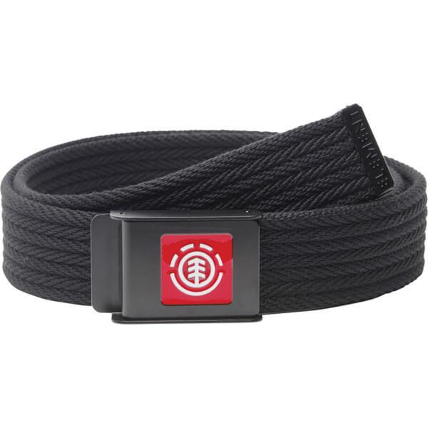 Element Skateboards Faber Flint Black Belt - Adjustable