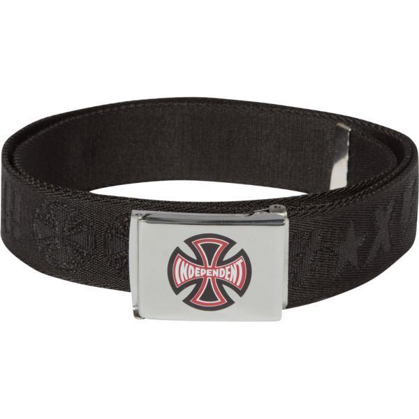 Independent Ante Black Web Belt - Adjustable