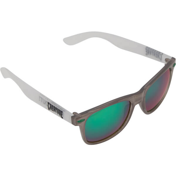 Creature Skateboards Freaker's 80's Green / Clear Sunglasses