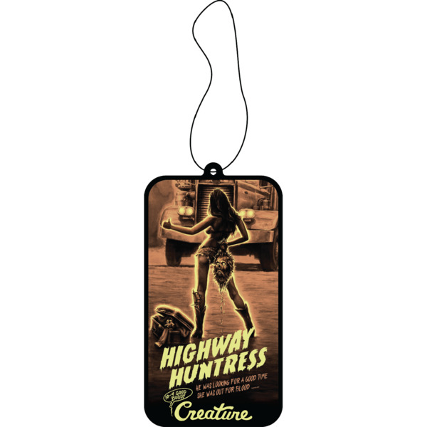 Creature Skateboards Roadside Terror Air Freshener