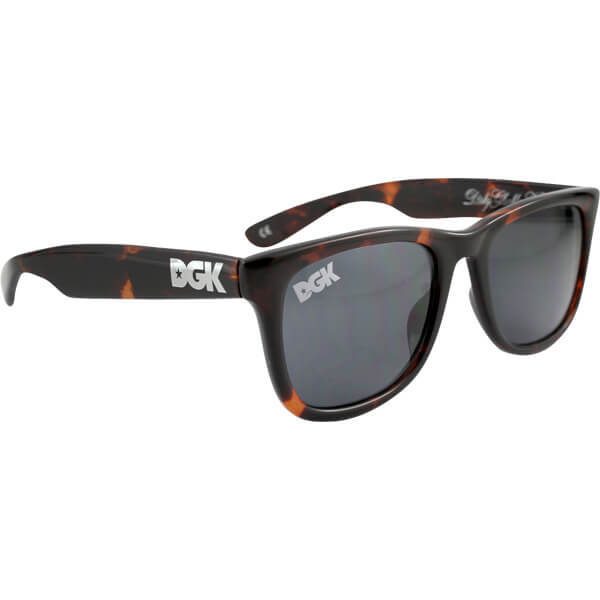 DGK Skateboards Classic Shades Brown Tortoise Sunglasses