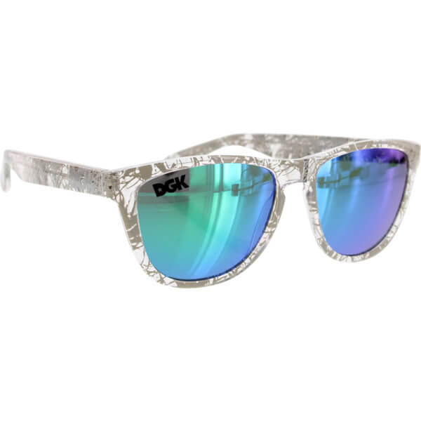 DGK Skateboards Vacation Shades Mirror Sunglasses