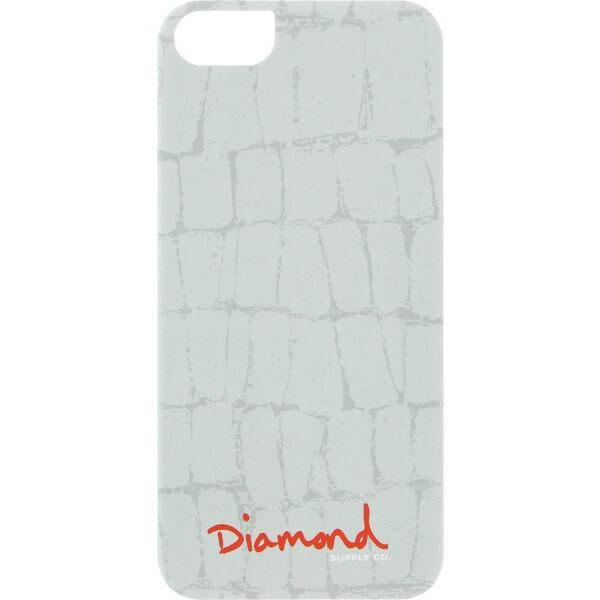 Diamond Supply Co Croc White iPhone 5 Case