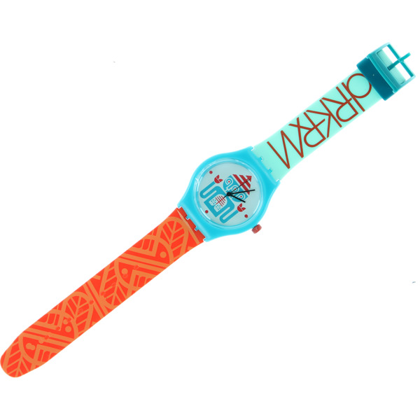 Darkroom Triclops Teal / Orange / White Wrist Watch