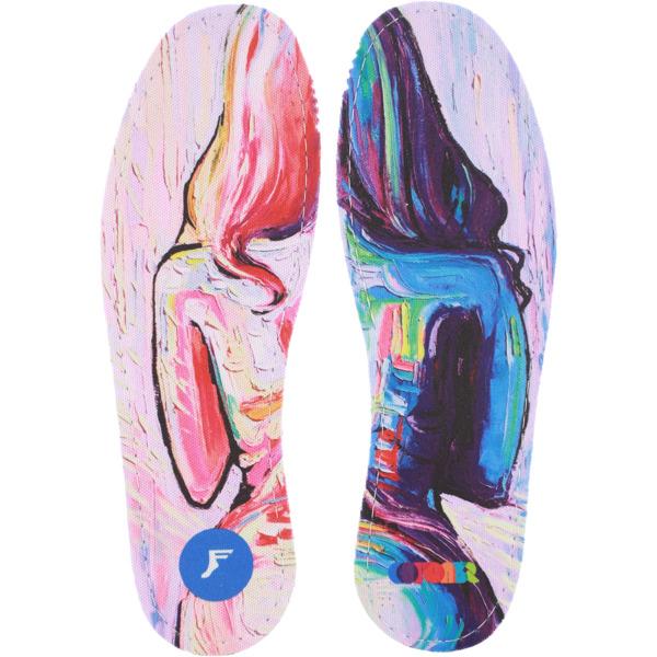 Footprint Insoles Flatt 5mm Collective Paint Shoe Insoles - 7/7.5