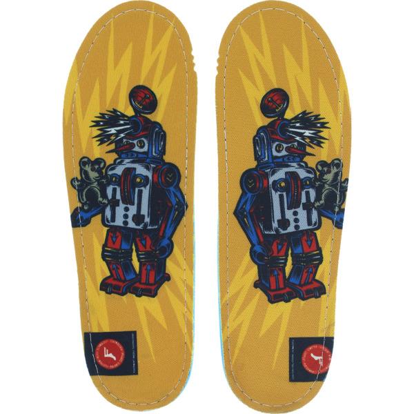 Footprint Insoles Gamechanger Robot Legacy Custom Orthotics Insoles - 7/7.5
