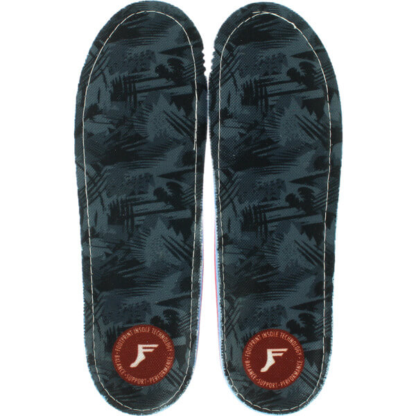 Footprint Orthotic Insoles Gamechanger Lo-Profile Grey Camo Shoe Insole - 7/7.5