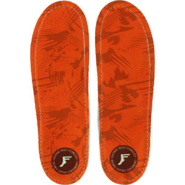 Footprint Insoles Kingfoam Camo Red Shoe Insoles - 7/7.5