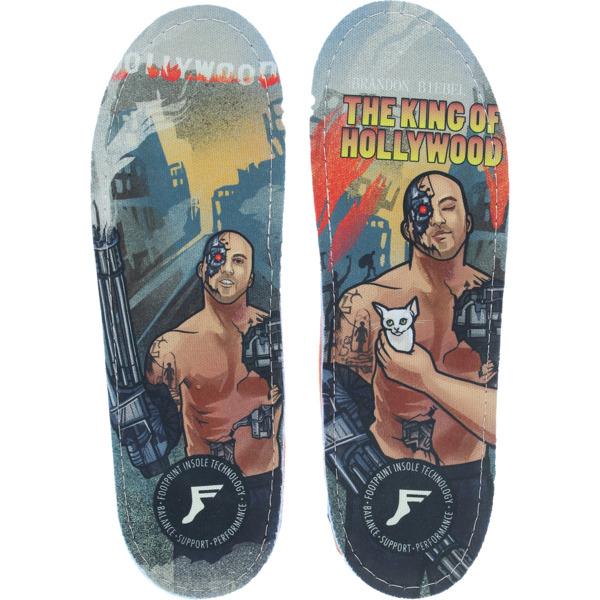 Footprint Insoles Orthotic Brandon Biebel King Hollywood Custom Orthotics Insoles - 7/7.5