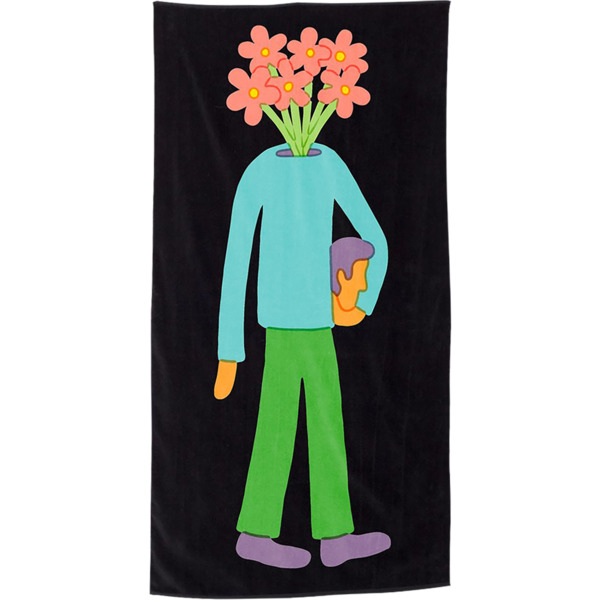 Girl Skateboards Lahan Mt.Dew Beach Towel