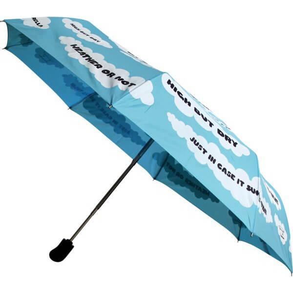 Girl Crailtap Clouds Umbrella