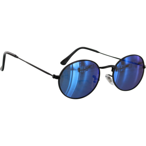 Glassy Sunhaters Campbell Black / Blue Mirror Polarized