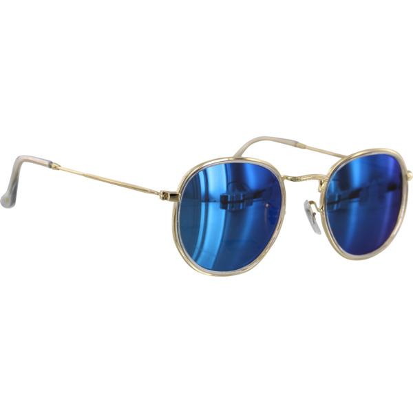 Glassy Sunhaters Hudson Clear / Blue Mirror Polarized