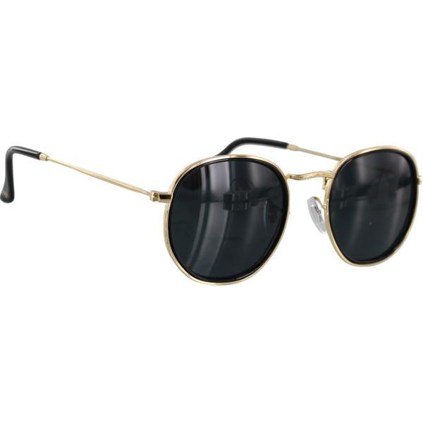 Glassy Sunhaters Hudson Black / Gold Polarized