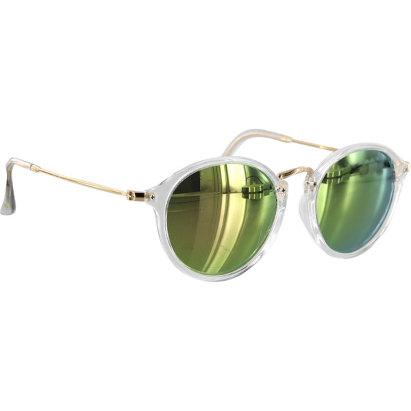 Glassy Sunhaters Klien Clear / Pink Mirror Polarized