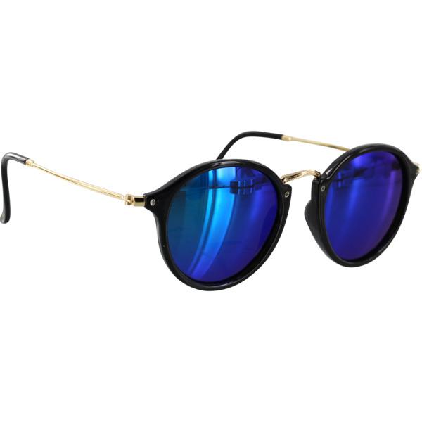 Glassy Sunhaters Klien Black / Green Mirror Polarized