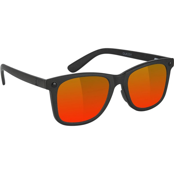 Glassy Sunhaters MikeMo Premium Blackout / Red Polarized