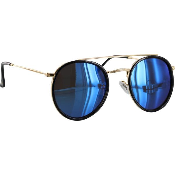 Glassy Sunhaters Parker Black / Gold / Blue Polarized
