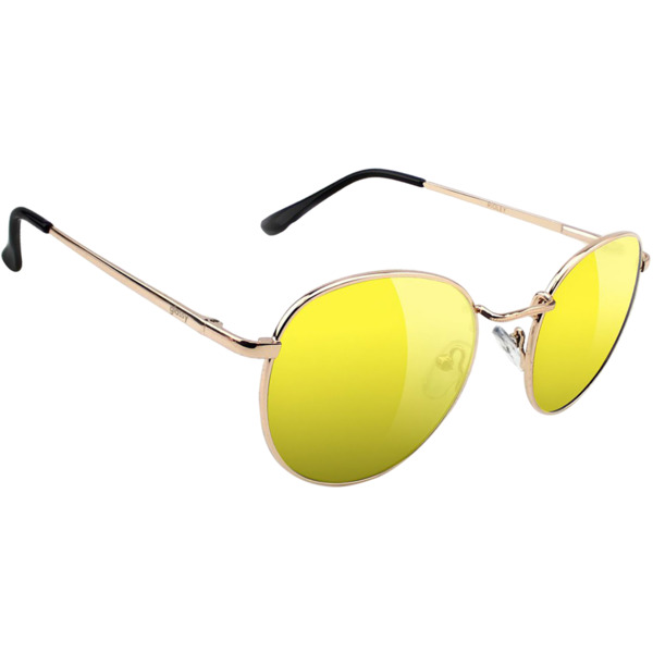 Glassy Sunhaters Ridley Gold / Yellow Sunglasses