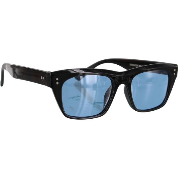 Glassy Sunhaters Santos Black / Blue Polarized