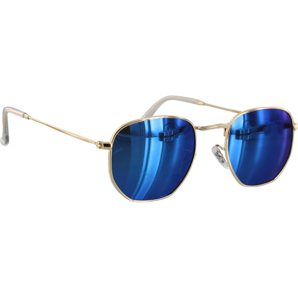 Glassy Sunhaters Turner Gold / Blue Mirror Polarized