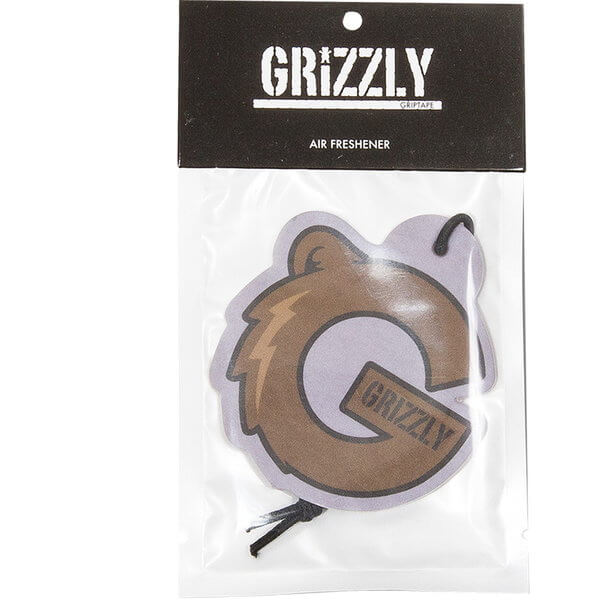 Grizzly Grip Tape G Logo Air Freshener